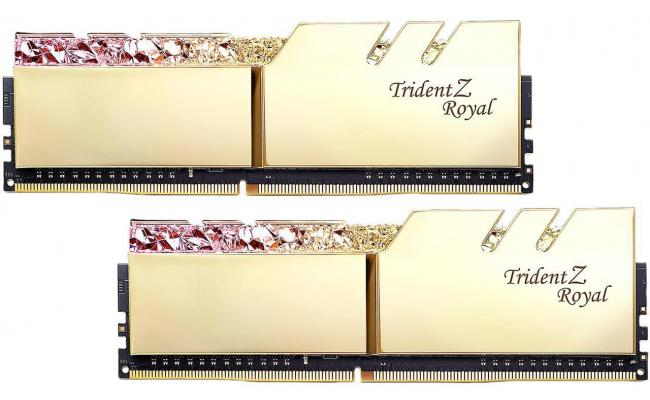 G.SKILL Trident Z Royal Series 16GB (2 x 8GB) DDR4 3000