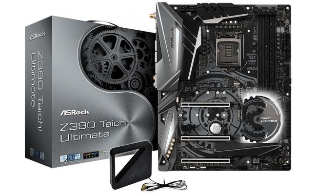 ASRock Z390 Taichi Ultimate Intel Z390 ATX Motherboard