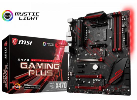 MSI X470 GAMING PLUS AMD X470 ATX Motherboard