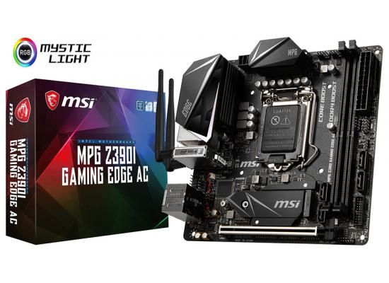 MSI MPG Z390I GAMING EDGE AC WIFI Intel Z390 Mini-ITX
