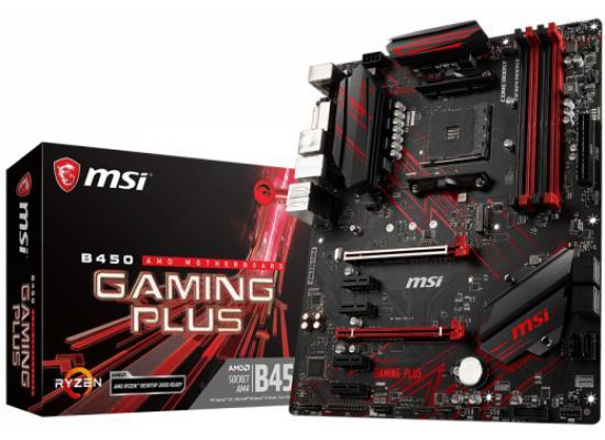 MSI B450 GAMING PLUS AMD B450 Motherboard