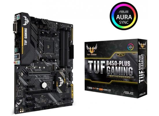 Asus TUF B450-PLUS GAMING AMD B450 Motherboard