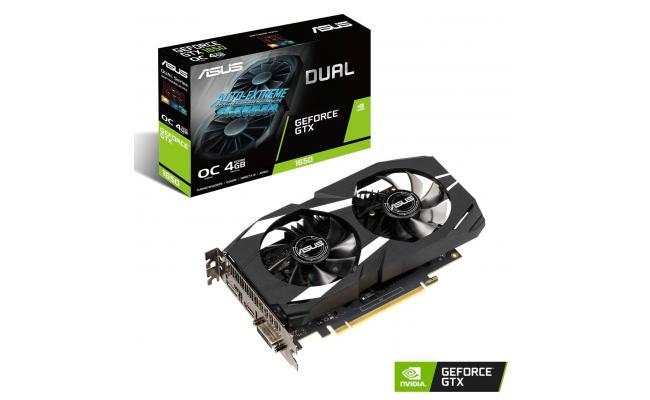 ASUS Dual GeForce GTX 1650 OC Edition Graphics Card