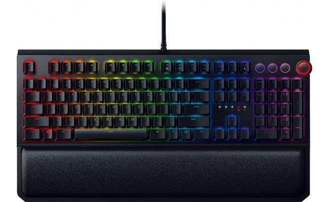 Razer BlackWidow Elite Gaming Orange Mechanical Switches