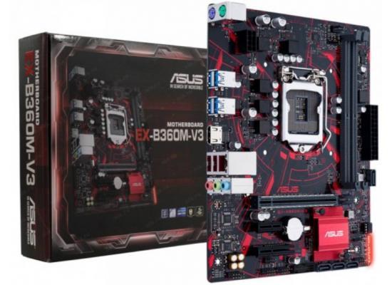 Asus Expedition EX-B360M-V3 Intel B360 Mainboard