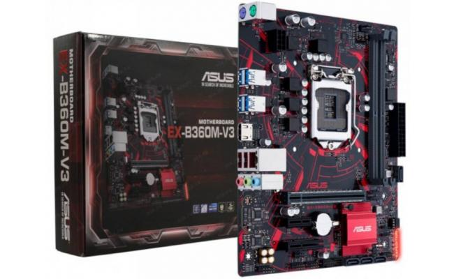 Asus Expedition EX-B360M-V3 Intel B360 Mainboard