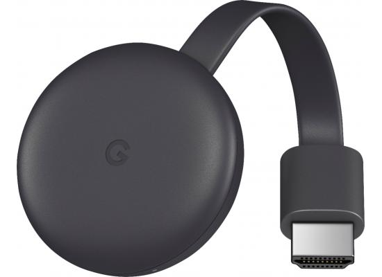 Google Chromecast 3rd Gen HDMI WiFi PC/MAC/iOS/Android