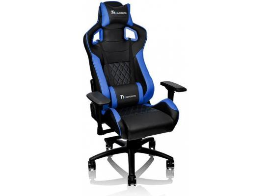 Thermaltake Tt eSports GT Fit F100 Gaming Chair (Blue & Black)