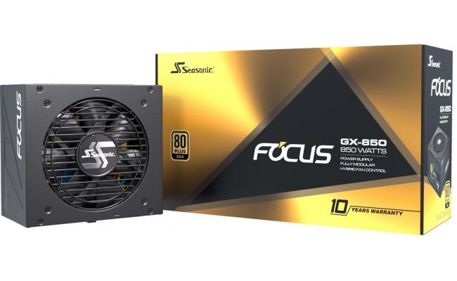 Seasonic Focus GX Series 850w 80+ Gold Full Modular