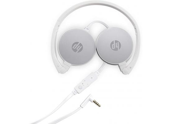 HP Stereo Headset H2800 (White w. Pike Silver)