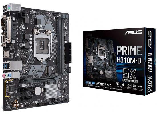 Asus PRIME H310M-D MicroATX Motherboard