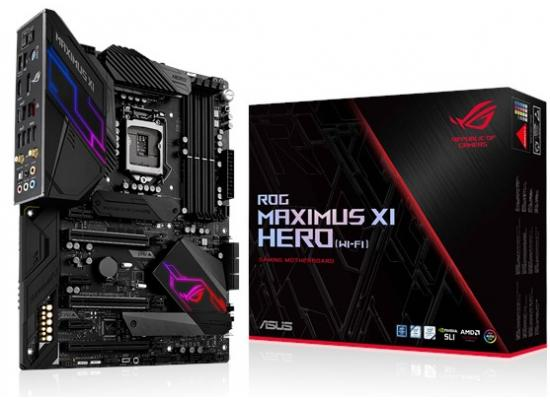 ASUS ROG Maximus XI Hero (Wi-Fi) Z390 Gaming Motherboard