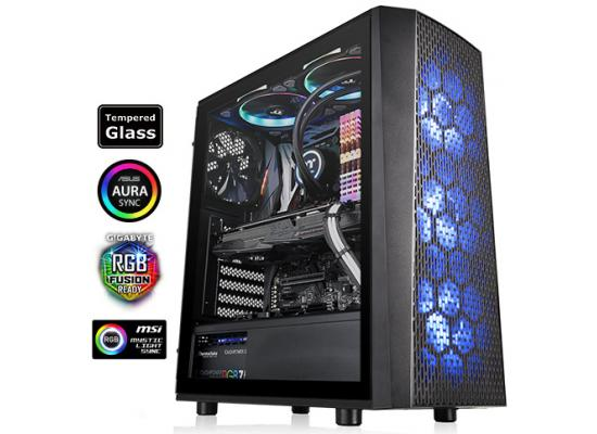 Thermaltake Versa J24 Tempered Glass RGB Edition