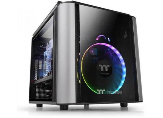 Thermaltake Level 20 VT  Gaming MicroATX Case (Black)