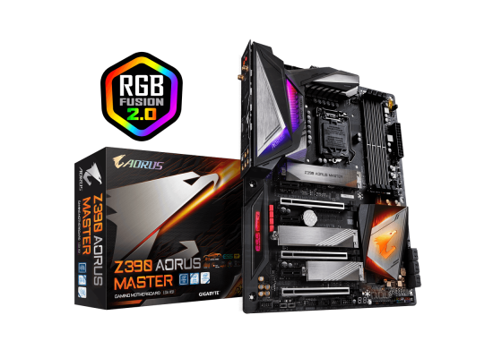 Gigabyte  Intel Z390 MASTER 9th Gen ATX Motherboard