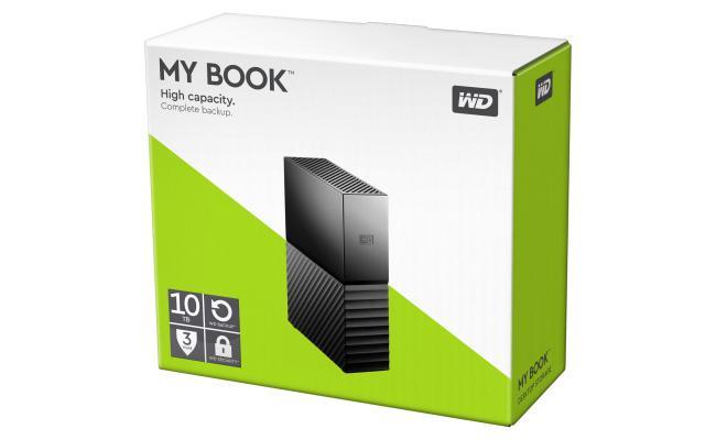 WD My Book 10TB USB 3.0 Desktop Hard Drive