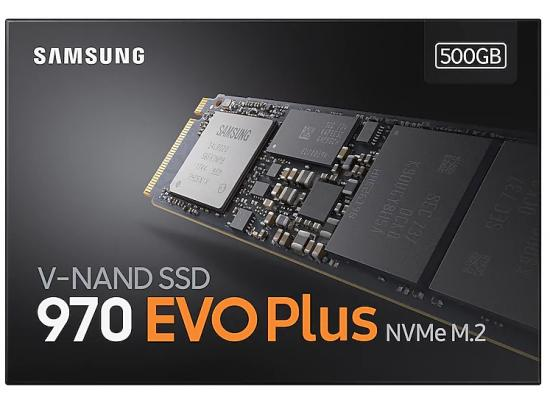 Samsung 970 EVO Plus NVMe 500GB M.2 PCI-Express 3.0