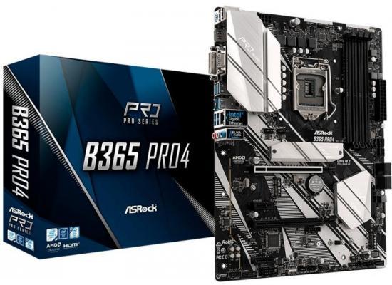 ASRock B365 PRO4 Intel B365  DDR4 ATX Motherboard