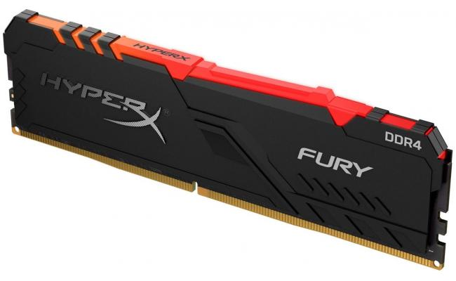 HyperX Fury 8GB RGB 3200 MHz DDR4 Memory