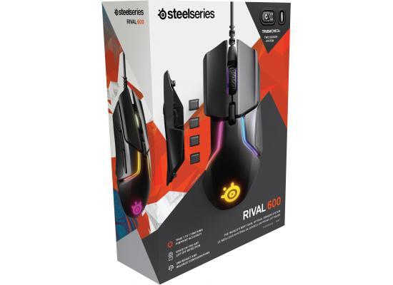 SteelSeries Rival 600 TrueMove3+ Dual Sensor System