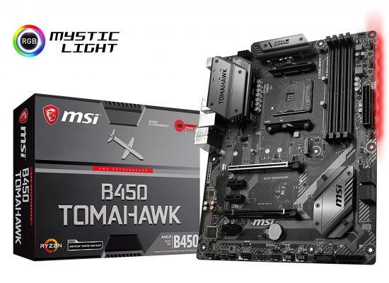 MSI B450 TOMAHAWK AMD B450 M.2 ATX Motherboard