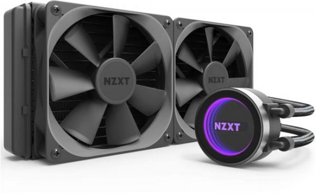 NZXT Kraken X52 All-in-One Liquid CPU Cooler with AM4 Bracket