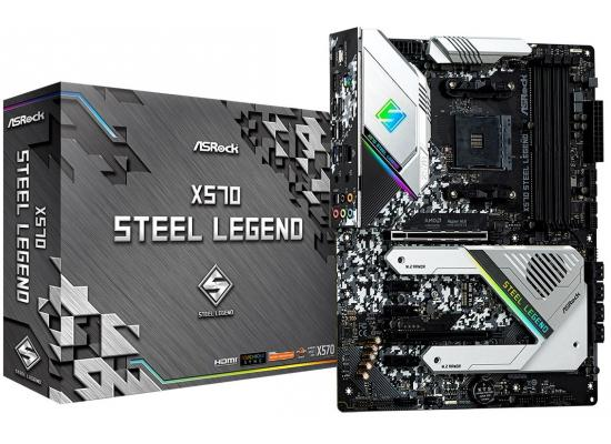ASRock AMD Ryzen X570 Steel Legend AM4 PCIe 4.0