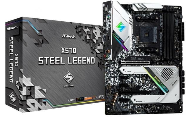 ASRock AMD Ryzen X570 Steel Legend AM4 PCIe 4.0