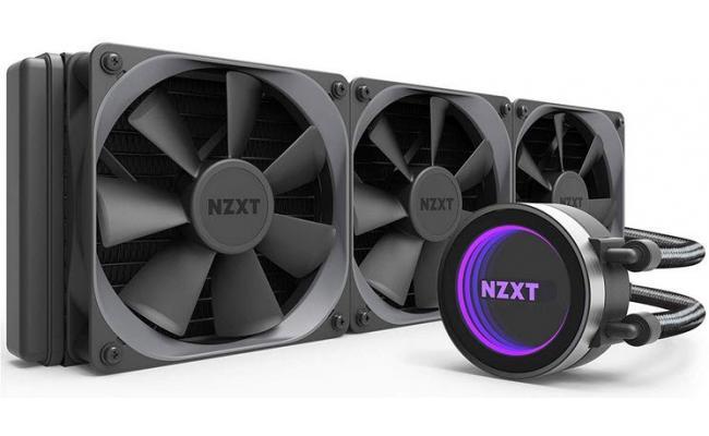 NZXT Kraken X72 360mm RGB All-In-One Liquid CPU Cooler
