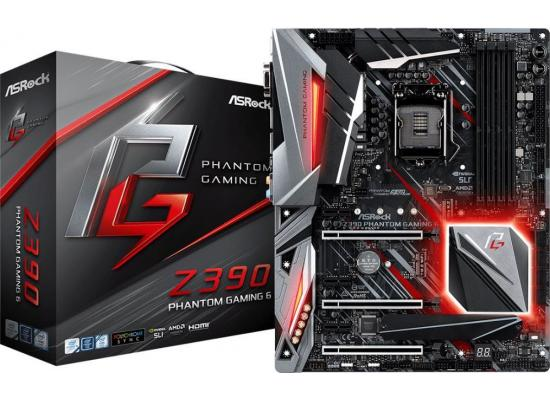 ASRock Z390 Phantom Gaming 6 Intel Z390 Motherboard