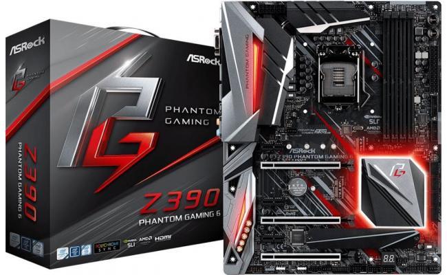 ASRock Z390 Phantom Gaming 6 Intel Z390 Motherboard
