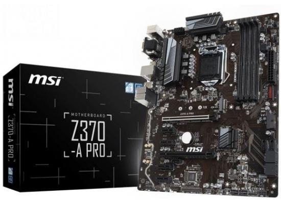 MSI Z370-A Pro  Intel Z370 M.2 ATX Motherboard