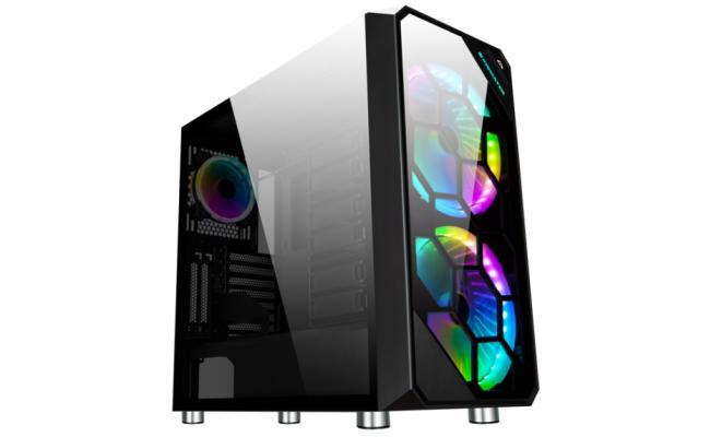 Xigmatek Zest Rambo RGB Tempered Glass w / Remote