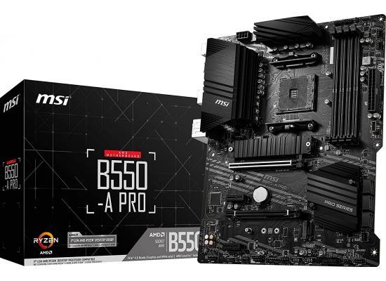 MSI PRO B550-A PRO AM4 AMD B550 ATX AMD Motherboard