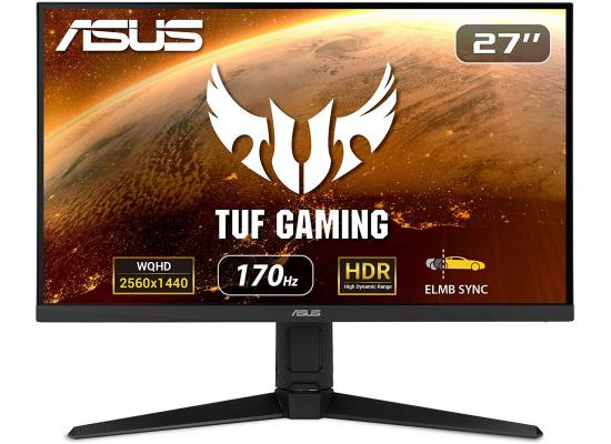 "ASUS TUF VG27AQL1A 27"" HDR 2K 170Hz IPS 1ms G-SYNC Compatible"