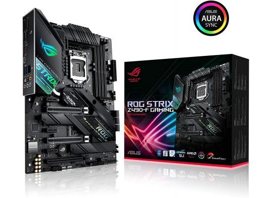 ASUS ROG STRIX Z490-F GAMING Intel Z490 USB Type-C Dual M.2 RGB