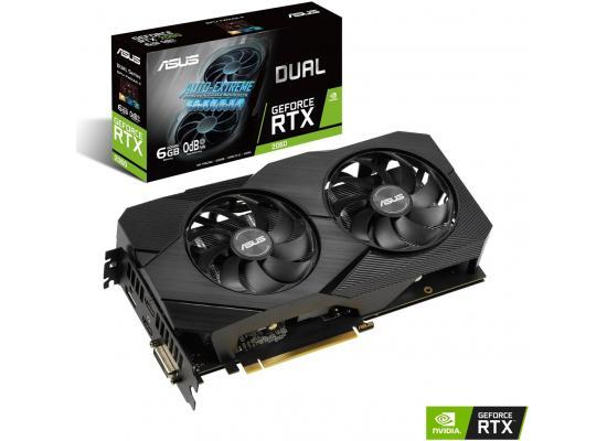 ASUS NVIDIA RTX 2060 6GB DDR6 DUAL EVO Edition