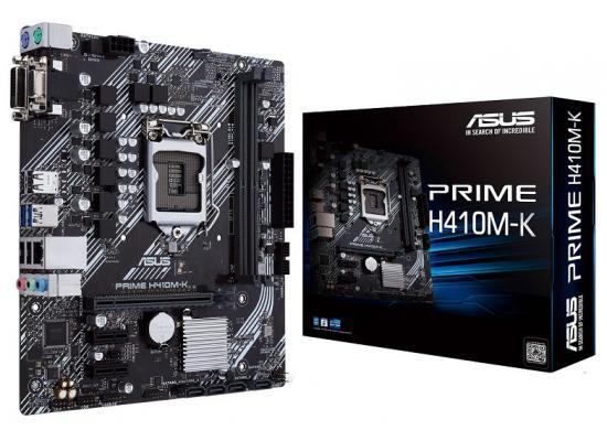 ASUS Prime H410M-K Intel H410 USB 3.2 Gen1 Mainboard