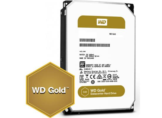 WD Gold 10TB Enterprise Class HDD 7200 RPM 256 MB Cache