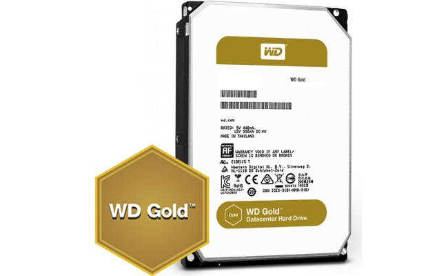 WD Gold 10TB Enterprise Class HDD 7200 RPM 256 MB Cache
