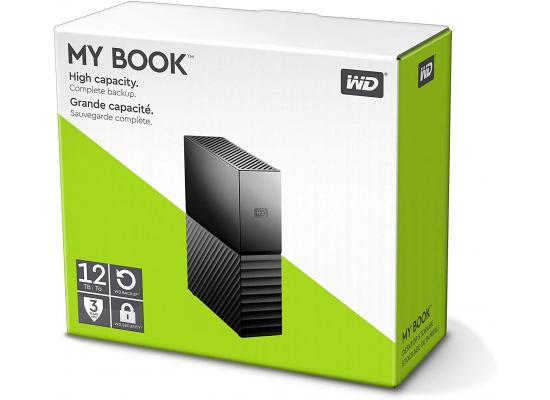 WD My Book 12TB USB 3.0 Desktop Hard Drive