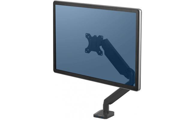 Fellowes Platinum Series Single Adjustable Monitor Arm - Black