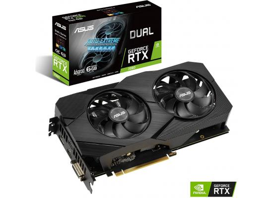 ASUS NVIDIA RTX 2060 6GB DDR6 DUAL EVO Advanced Edition