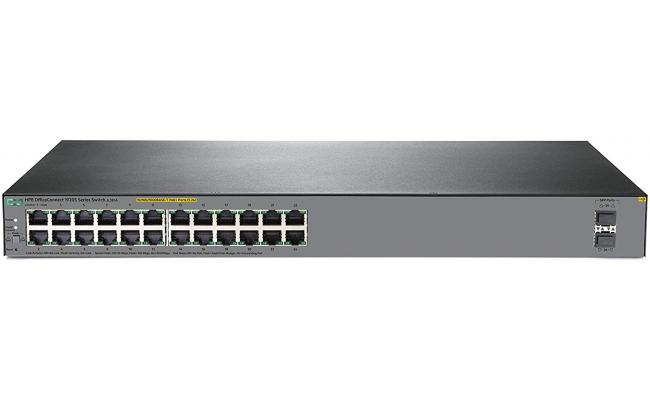 HPE OfficeConnect 1920S 26-Port Gigabit Smart Switch PoE 24 Ports (370W)