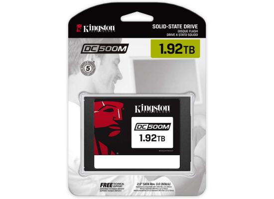 Kingston Data Centre DC500M 1.92 TB Enterprise Solid-State Drives