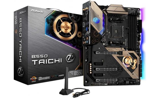 ASRock B550 TAICHI AM4 AMD B550 ATX AMD Motherboard