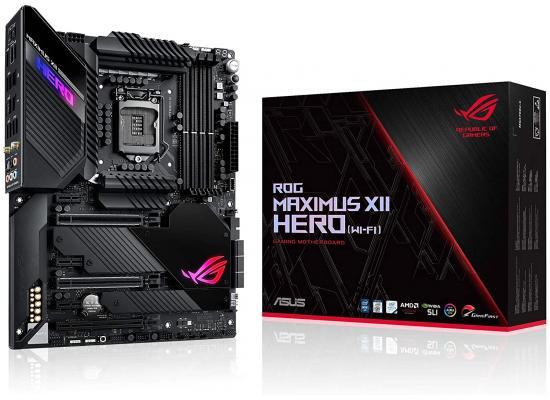 ASUS ROG Maximus XII Hero Z490 WiFi 6 & Bluetooth Triple M.2 M.B