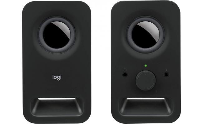 Logitech Speakers Z150 with Stereo Sound for Multiple Devices - Black