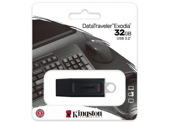 Kingston DataTraveler Exodia 32GB USB 3.2 Flash Drive