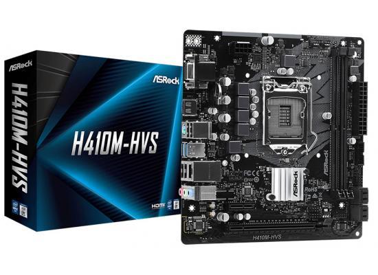 ASROCK H410M-HVS Intel H410 LGA 1200 Motherboard